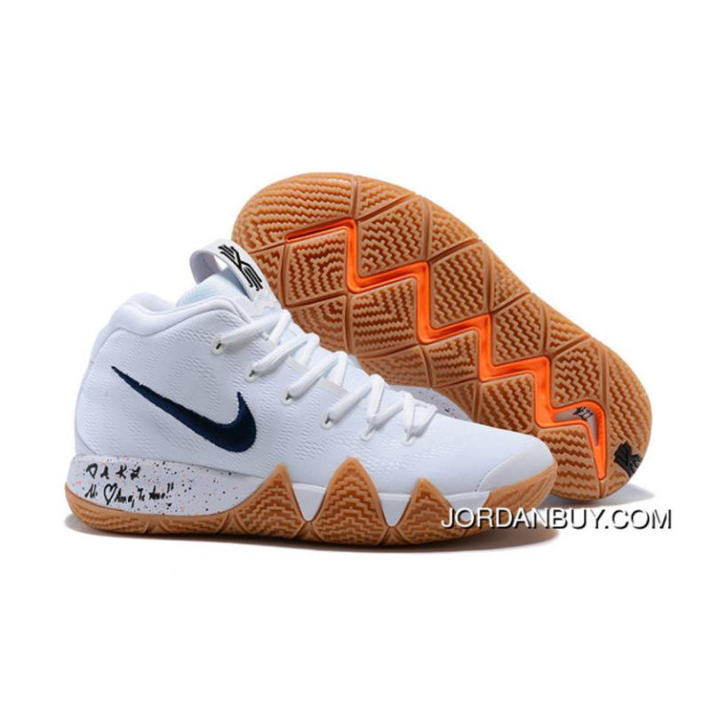 e7ef3bb1e16c 2018 Nike Kyrie Shoes X Nike Kyrie 4 Uncle Drew Flim Black White Top Deals  ...