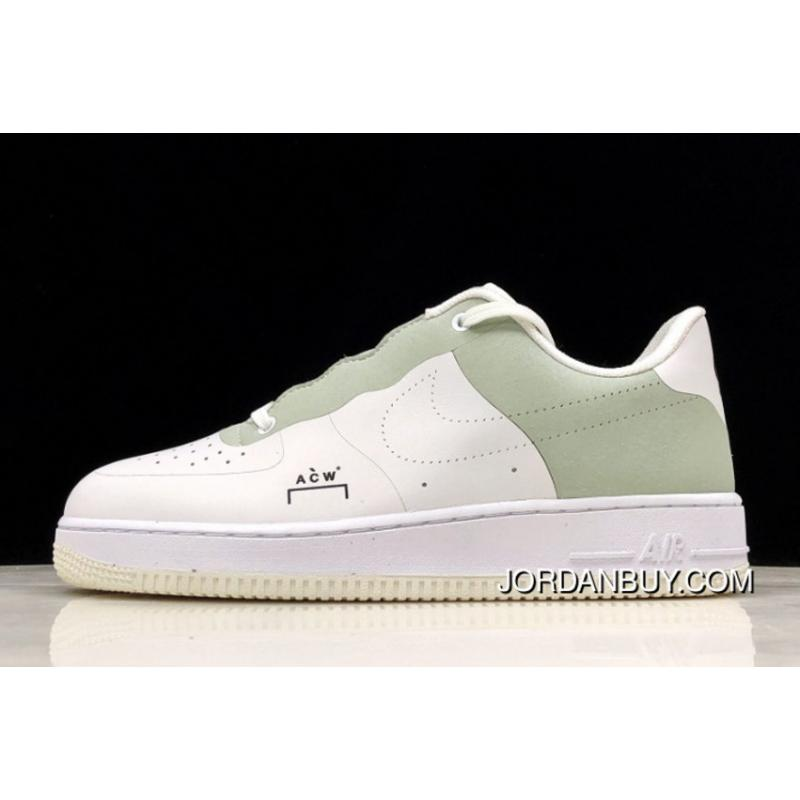 the latest 23aab 28d46 A-Cold-Wall  X Nike Air Force One White Light Green BQ6924- ...