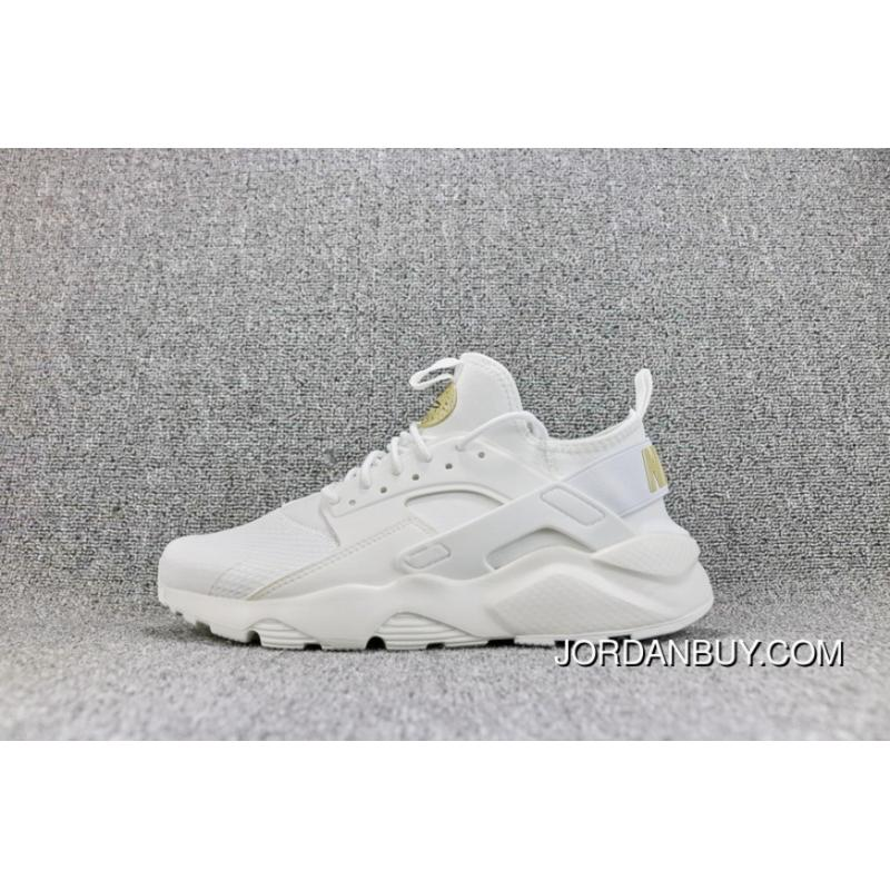 online store e7dd4 e5965 Nike AIR Huarache RUN ULTRA 4 White Mesh Breathable Running Shoes Women  Shoes And Men Shoes ...