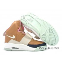 Sale Cheap Nike Air Yeezy 1 I Mens Shoes Brown Shoes Now