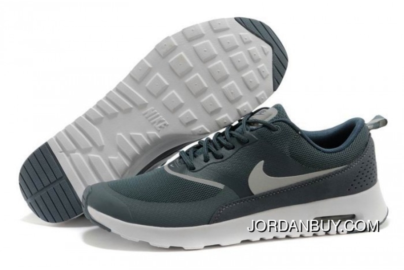 new style 66338 82915 Nike Air Max Thea Mens Light Blue White