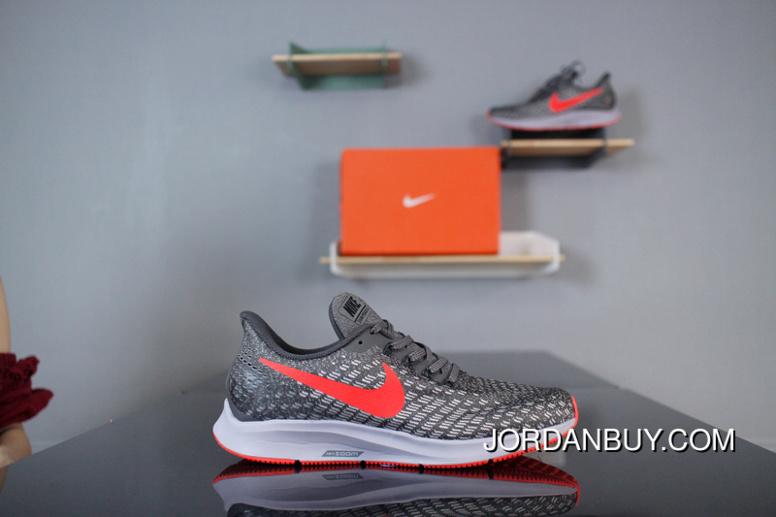 3762b36615bb7 Nike Air Zoom Pegasus 35 LUNAREPIC 35 942851-006 Black Grey Red Jacquard  Mesh Type